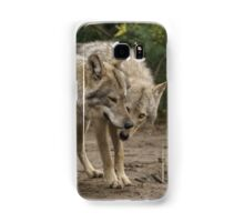 Rescued Timber Wolves 1 Samsung Galaxy Case/Skin