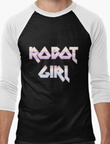 ROBOT GIRL by Chillee Wilson Men's Baseball ¾ T-Shirt