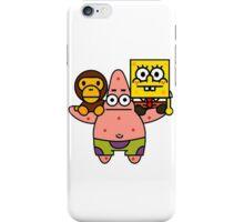 Spongebob baby milo and Patrick star iPhone Case/Skin