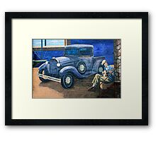 awesome wall Framed Print