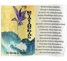 Relationships Poster