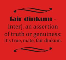 Fair Dinkum by Matthew Walmsley-Sims