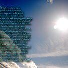 High on a mountain-Beacon Hill prayer, Newbury, UK by Wayne Cook