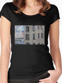 Urban Windows Women's Fitted Scoop T-Shirt