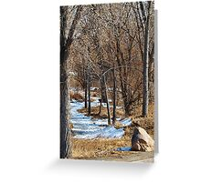 Story Book Path Greeting Card