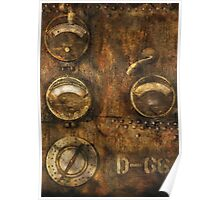 SteamPunk - Meters D-66 Poster