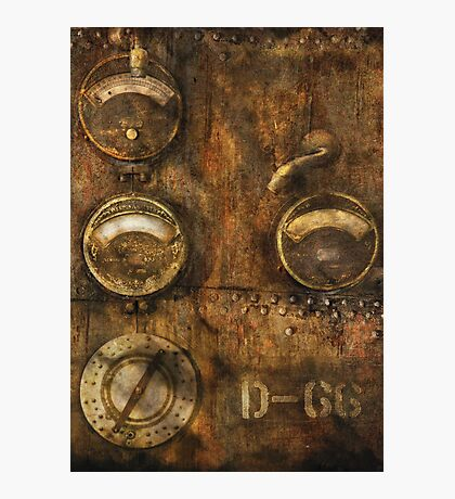 SteamPunk - Meters D-66 Photographic Print
