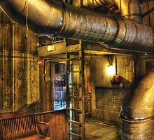 SteamPunk - Where the pipes go by Mike  Savad