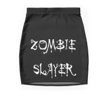 'Zombie Slayer' by Chillee Wilson Mini Skirt
