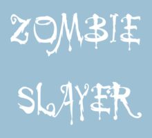 'Zombie Slayer' by Chillee Wilson Baby Tee