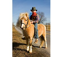Giddy Up, Partner! Photographic Print