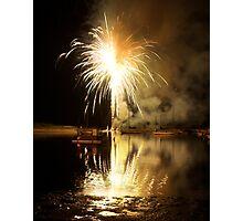Fireworks2 Photographic Print
