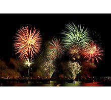 Fireworks 4 Photographic Print
