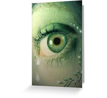 Fall of the Dryad Greeting Card