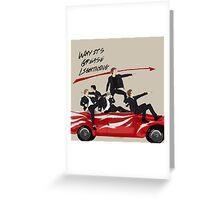 Grease Lightning! Greeting Card