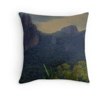 Grand High Tops in the Warrumbungles 003 Throw Pillow