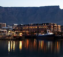 Table Bay - Cape Town's waterfront by Peter Wickham