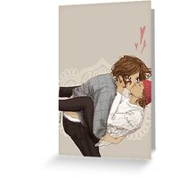 Kissy Greeting Card