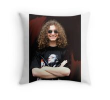 Ry Bowie-Woodham Throw Pillow