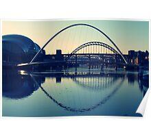 bridges - Newcastle upon tyne Poster