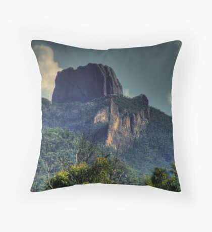 The Breadknife in the Warrumbungles Throw Pillow