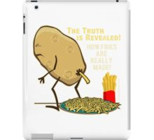 French Fries truth Comedy iPad Case/Skin