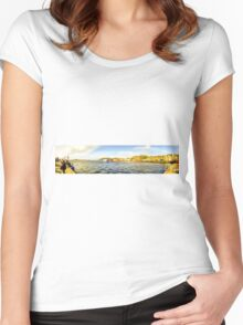Oban Panorama Women's Fitted Scoop T-Shirt