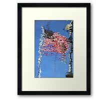 Reflecting Our Flag Framed Print