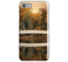 Bow Bridge Reflection  iPhone Case/Skin