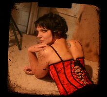 Red Corset by Coldtown