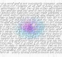Love Is A Word (two) © Vicki Ferrari Cards by Vicki Ferrari