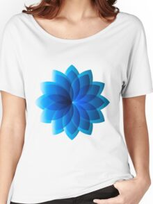 Abstract Digital Star Women's Relaxed Fit T-Shirt