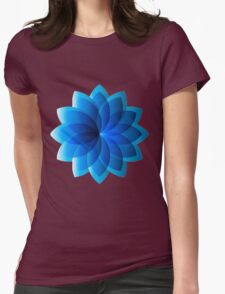 Abstract Digital Star Womens Fitted T-Shirt