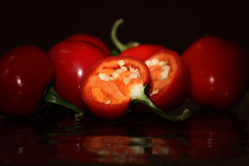 Red Hot Chillie Peppers by Moira Smith