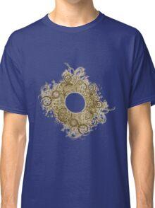 Abstract Digital Baroque Swirls Classic T-Shirt