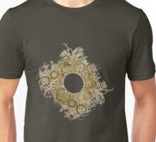 Abstract Digital Baroque Swirls Unisex T-Shirt