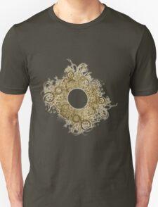 Abstract Digital Baroque Swirls T-Shirt