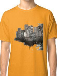 Abstract Digital Urban Setting Classic T-Shirt