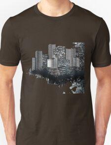 Abstract Digital Urban Setting T-Shirt