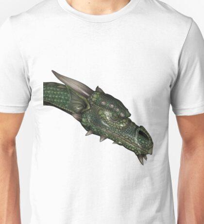 Digital Dragon Head Unisex T-Shirt