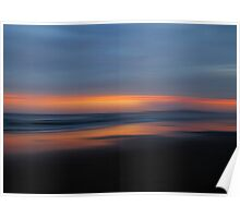 Grants Beach Sunset Poster