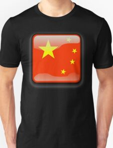 Chinese Flag Icon T-Shirt