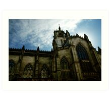 St Giles Cathedral - Edinburgh Art Print