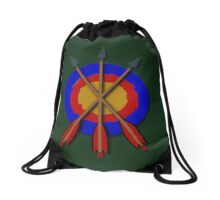 Archery TriniTEE design Drawstring Bag