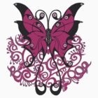 Pink Butterfly by Shelagh Linton