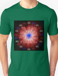 4th of July Party Unisex T-Shirt
