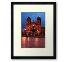 Cuzco Night Framed Print