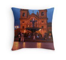 Cuzco Night Throw Pillow