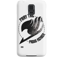 Fairy Tail - Proud Member Samsung Galaxy Case/Skin