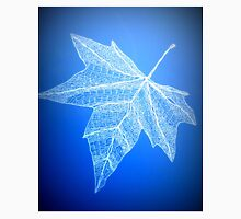 blue leaf art Unisex T-Shirt